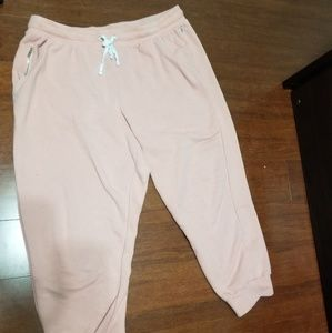 Pink Trousers with elastic